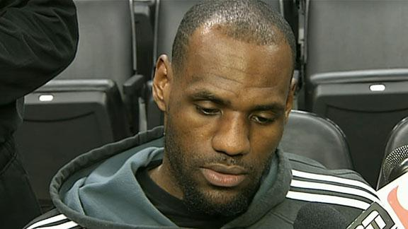Video - LeBron Not Fazed By Jordan Comments