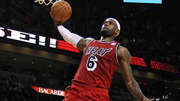 Video - Is LeBron Scared To Be In The Dunk Contest?