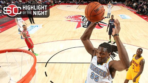 Video - Faried Lifts Team Chuck Past Team Shaq