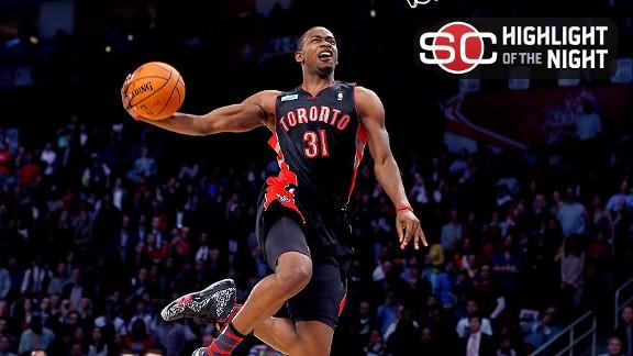 Video - Terrence Ross Wins Dunk Contest