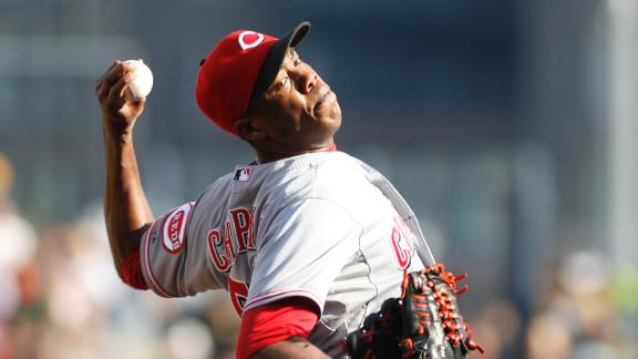 Chapman on starting vs. closing: Reds' choice