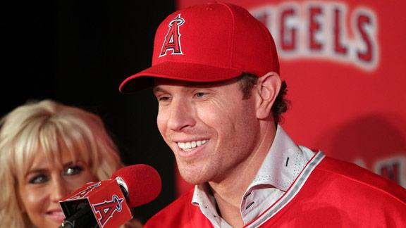 Angels' Hamilton: DFW 'not true baseball town'