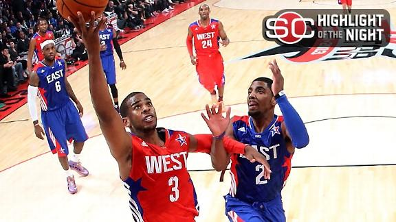 Video - Chris Paul Guides West To Third Straight All-Star Win