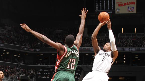 Video - Joe Johnson Saves Nets In OT Win Over Bucks