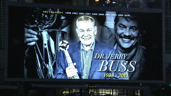 Video - Dr. Jerry Buss Tribute