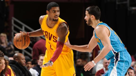 Video - Irving, Cavs Top Hornets