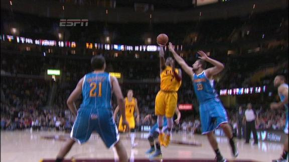 Video - Irving floater in the lane