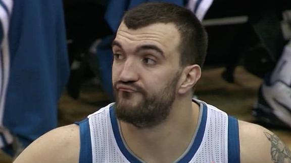 Video - Pekovic Powers Wolves Past 76ers