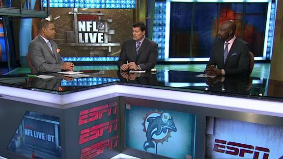 Video - NFL Live OT: Dolphins Target Mike Wallace