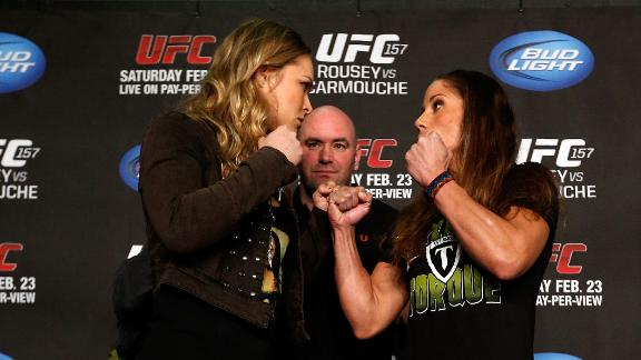 Fighter Ronda Rousey is social media savvy