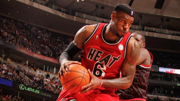 Heat rout Bulls for season-high 9th straight win