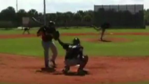 Video - Stanton Beaned By Marlins Prospect
