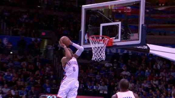 Video - Durant To Westbrook Alley-Oop