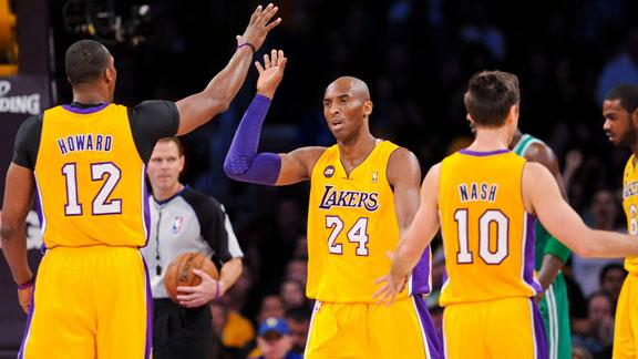 Video - Lakers Stand Behind Kobe's Promise