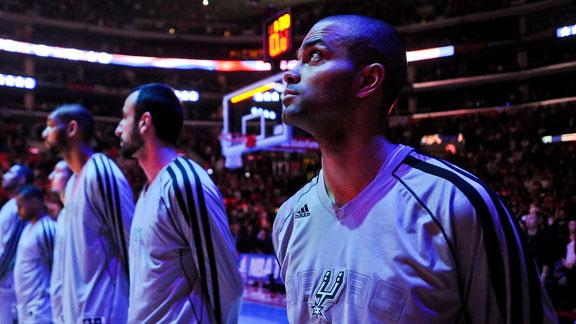 Report: Spurs' Parker out Sunday against Suns