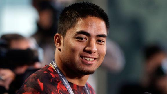 2013 NFL combine -- Te'o's answers incomplete
