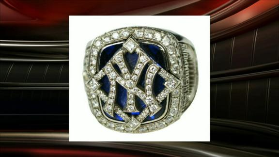 A-Rod cousin Sucart selling World Series ring