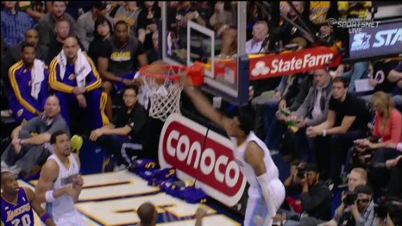 Video - Nuggets Roll Lakers, 119-108