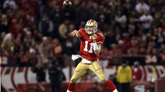 Setting a price for 49ers' Alex Smith