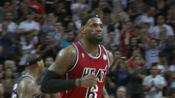 LeBron, Wade score 79 as Heat prevail in 2 OT