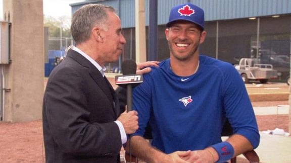 Video - Arencibia's Kurkjian Impersonation