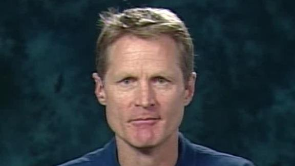 Video - Steve Kerr Talks NBA Hoops