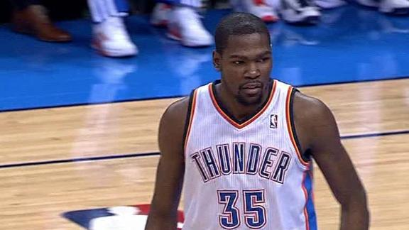 Video - Durant Triple-Double In Thunder Win