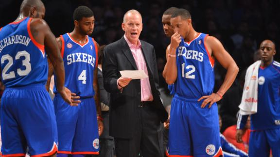 Collins: 76ers effort in loss was 'min
