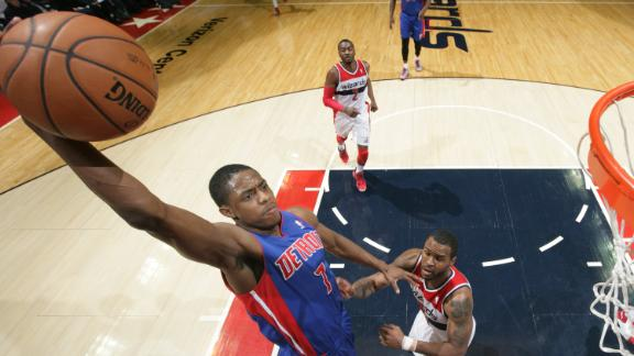 Knight, Monroe lead Pistons past Wizards