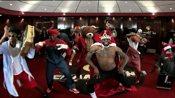 Video - Miami Heat Harlem Shake