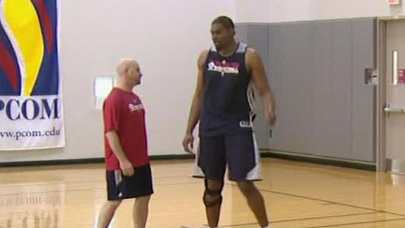 Video - Andrew Bynum Has Another Setback