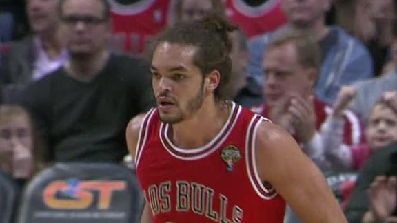 Noah, Boozer combine to lift Bulls over Nets