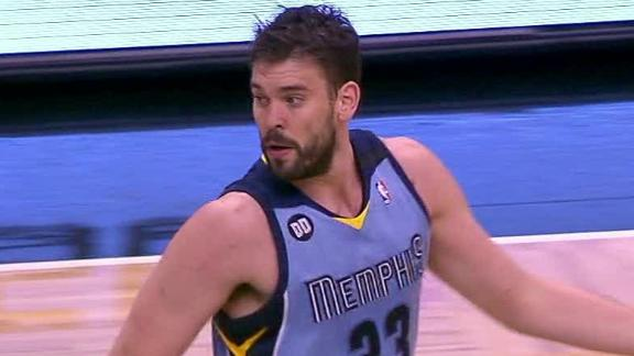 Video - Gasol, Grizzlies Role Over MagicGasol, Grizzlies Roll Over Magic