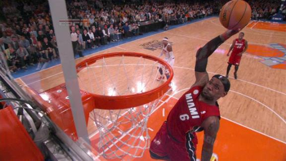 Video - Lebron Alley-Oop