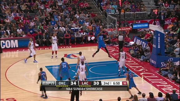 Video - Durant Dunks With Authority