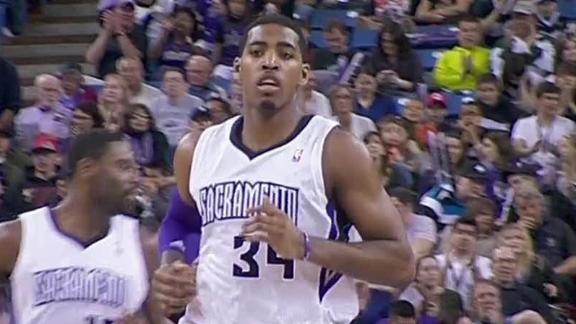 Salmons, Thompson key Kings' rout of Bobcats
