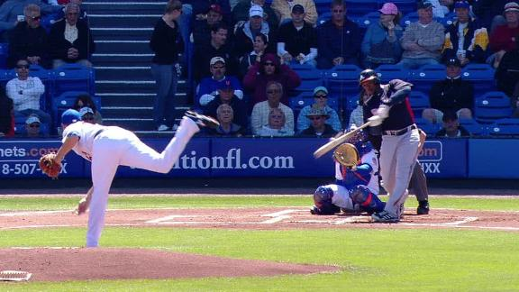 Video - Newcomers Homer In Braves' Win