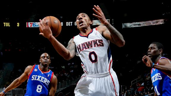 Video - Teague's Double-Double Fuels Hawks