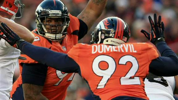 Reports: Broncos ask Dumervil to take pay cut