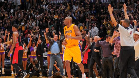 Kobe's late-game heroics lift Lakers to OT win