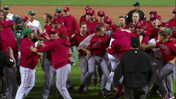 Video - Canada-Mexico Brawl Breaks Out In WBC