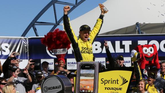 Kenseth Celebrates Birthday With Win At Las Vegas
