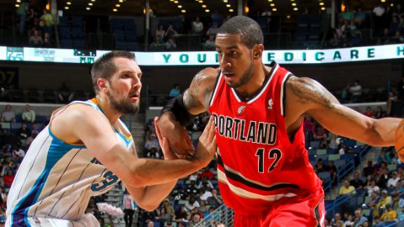 Video - Hornets Edge Trail Blazers