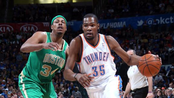 Video - Durant's Double-Double Halts Celtics' Win Streak