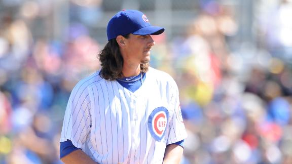 Video - Jeff Samardzija Making Progress