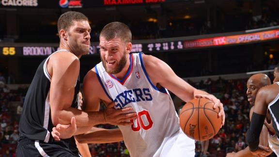 Hawes scores season-high 24 as 76ers top Nets