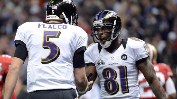 Joe Flacco sticks up for Anquan Boldin