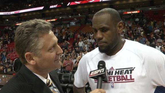 Video - LeBron On Heat's 19th Straight Win