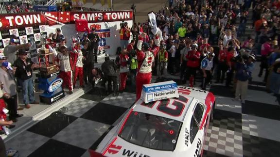 Sam Hornish Jr. On Win In Las Vegas