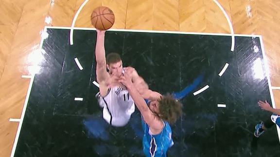 Video - Brook Lopez Takes Out His Brother